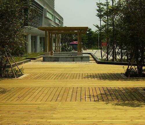 都匀防腐木景观工程