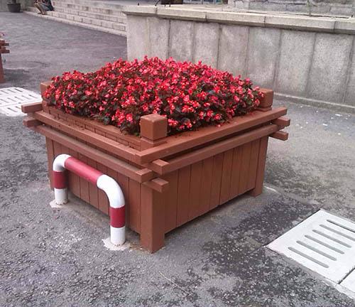 都匀防腐木花箱
