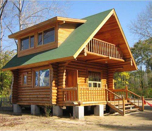 防腐木屋设计