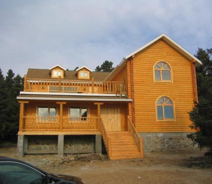 防腐木屋安装公司