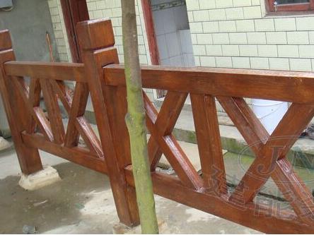 四川仿木护栏