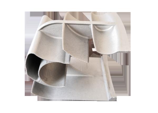 铝制散热器封头