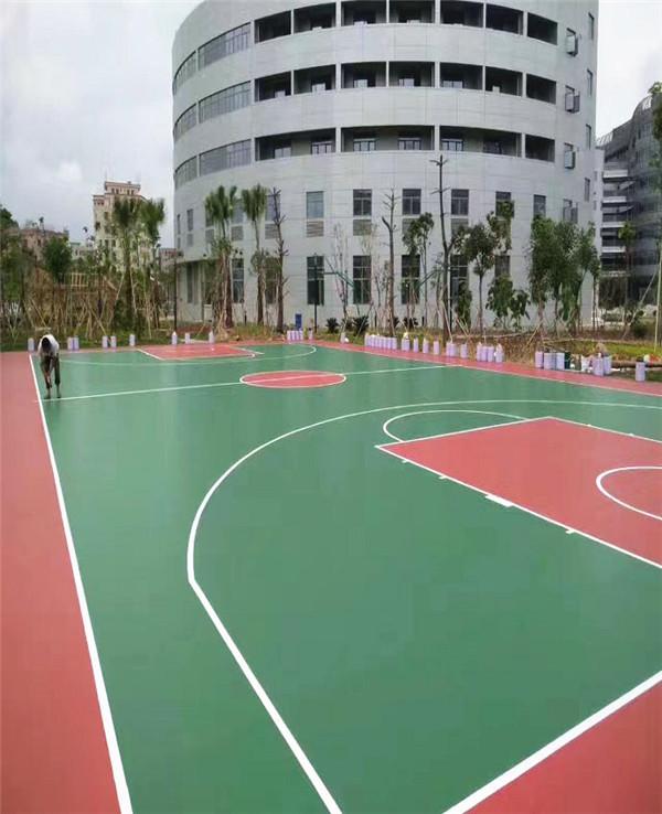 聚氨酯球场地坪施工