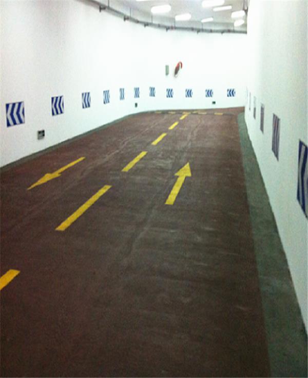 车库防滑坡道施工