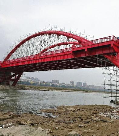 钢结构桥梁涂装施工