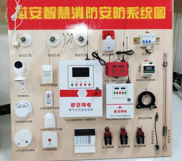 智慧消防+安防一体化系统