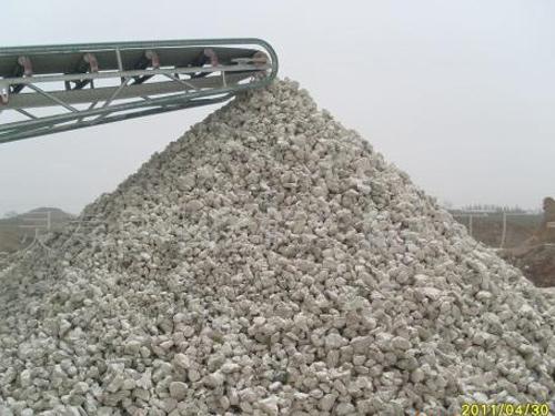 石灰块建筑材料