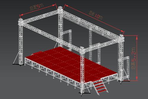 舞台桁架规格
