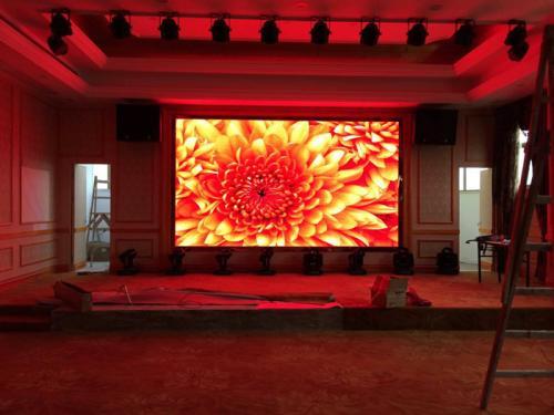 LED舞台租赁屏