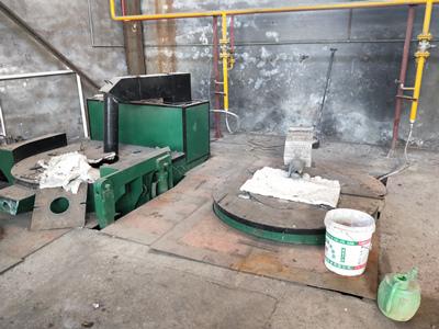 天然气熔铜炉