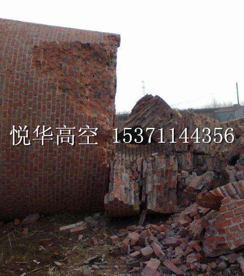 50米砖烟囱拆除