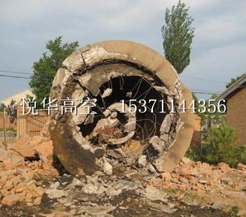 60米砖烟囱拆除