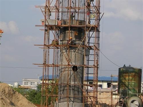 凉水塔防腐施工