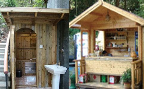 旅行景点真空厕所