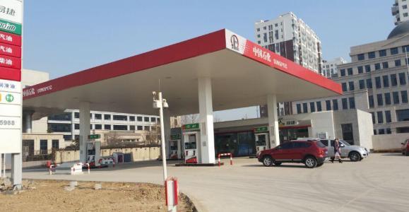 中國石化燈箱