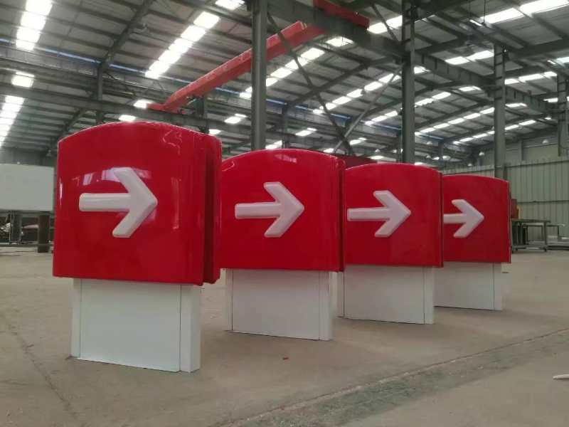 中國石化加油站燈箱