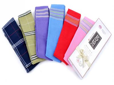 陕西手织布围巾
