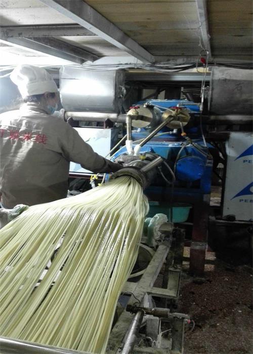 直条米粉生产线
