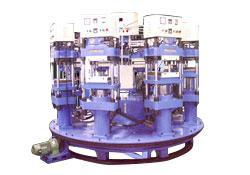 旋转式热压成型机