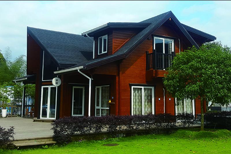 木质组合别墅