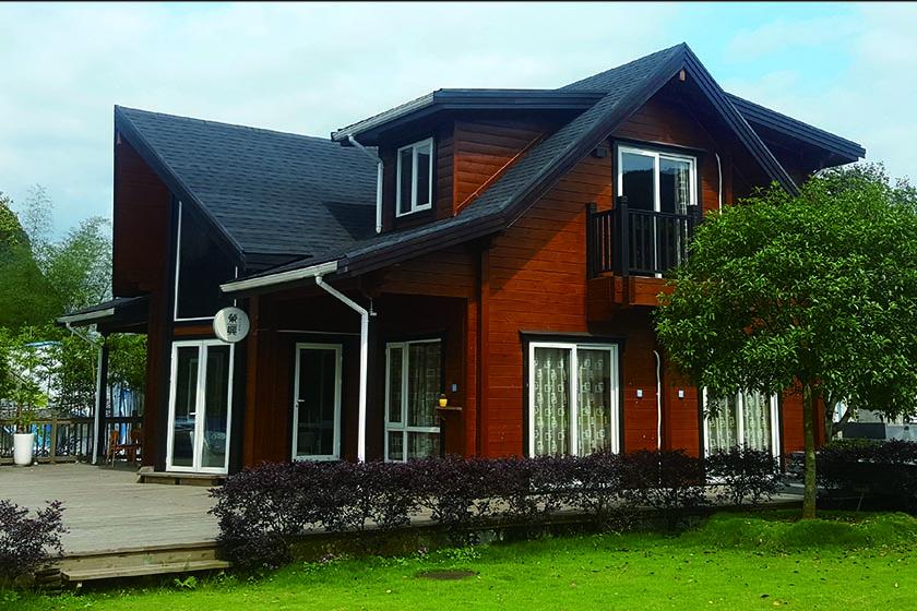 木制结构房子