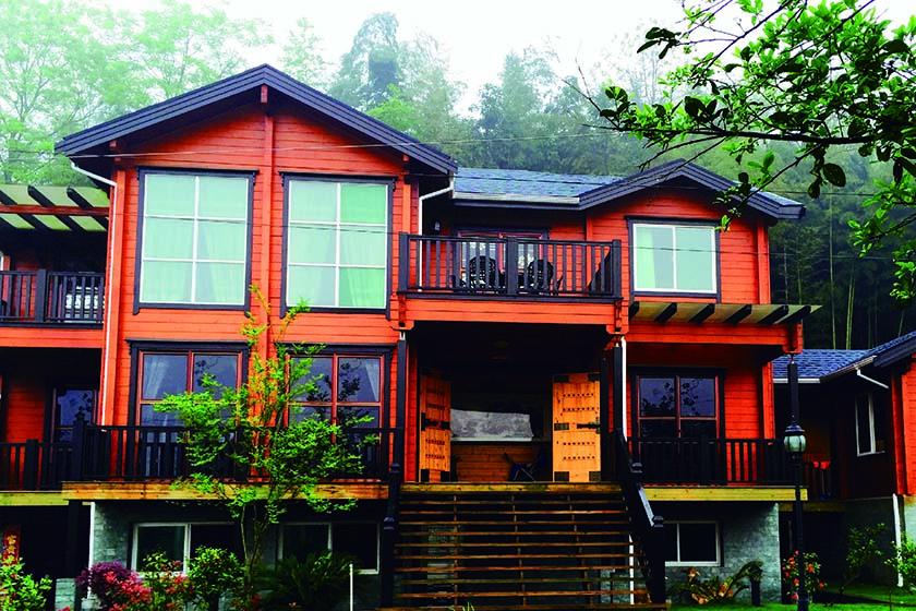 轻型木结构别墅
