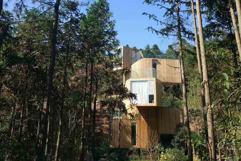 轻型木别墅