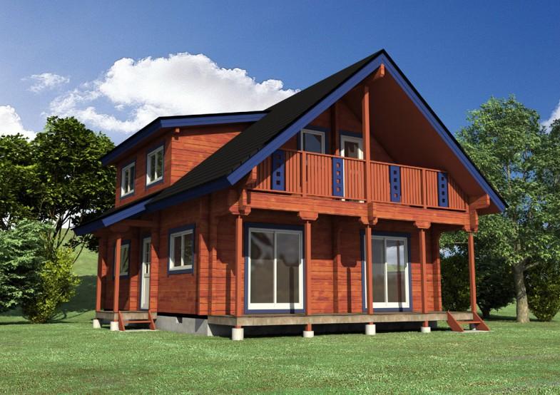 移动木屋生产
