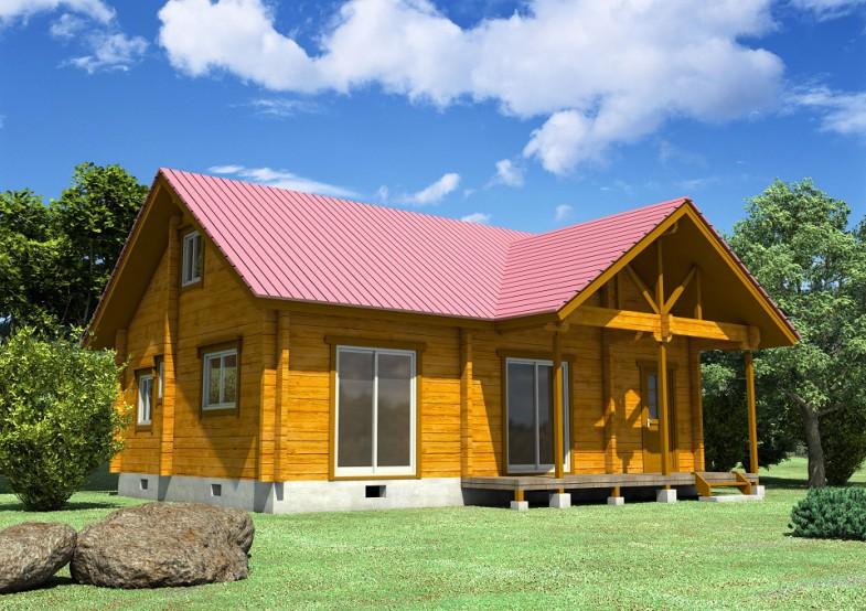 农家乐木屋