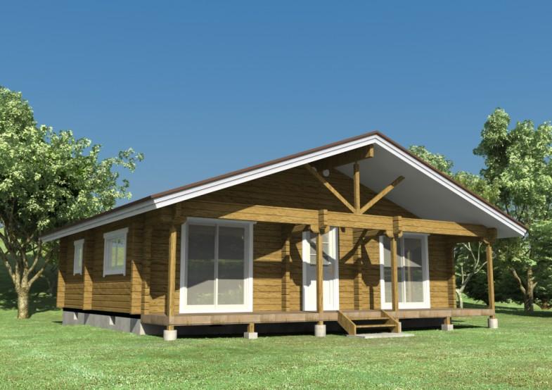 全木结构房屋