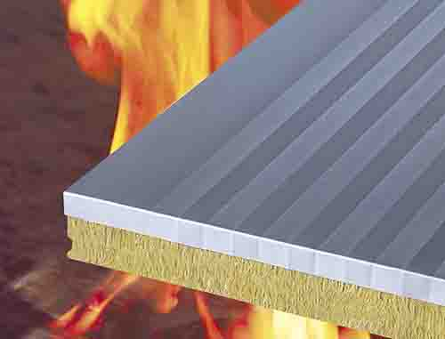 貴州防火岩棉夾芯板