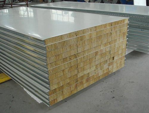 彩鋼岩棉板