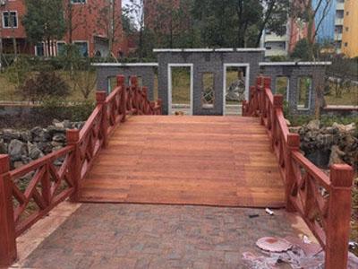 防腐木景观木桥