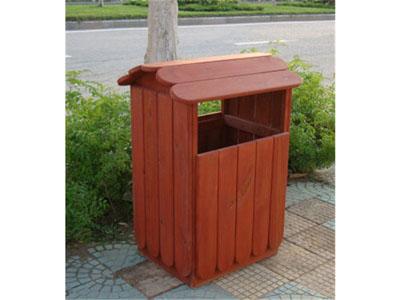 贵阳木垃圾箱