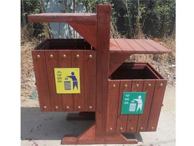 贵阳防腐木垃圾桶