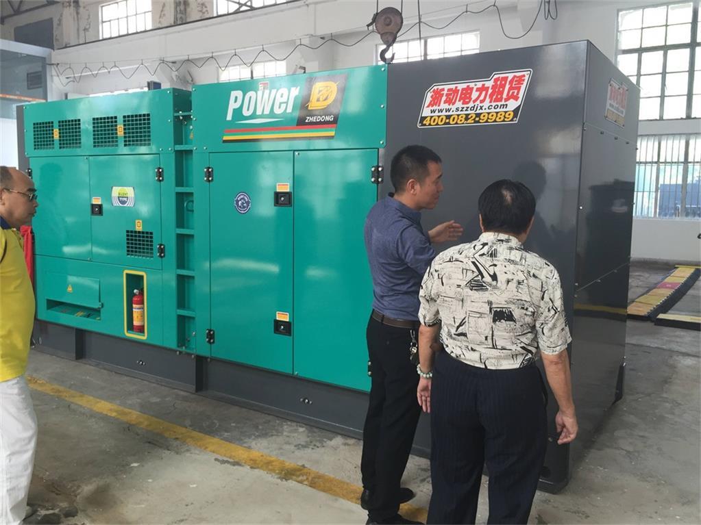 250KW发电机租赁