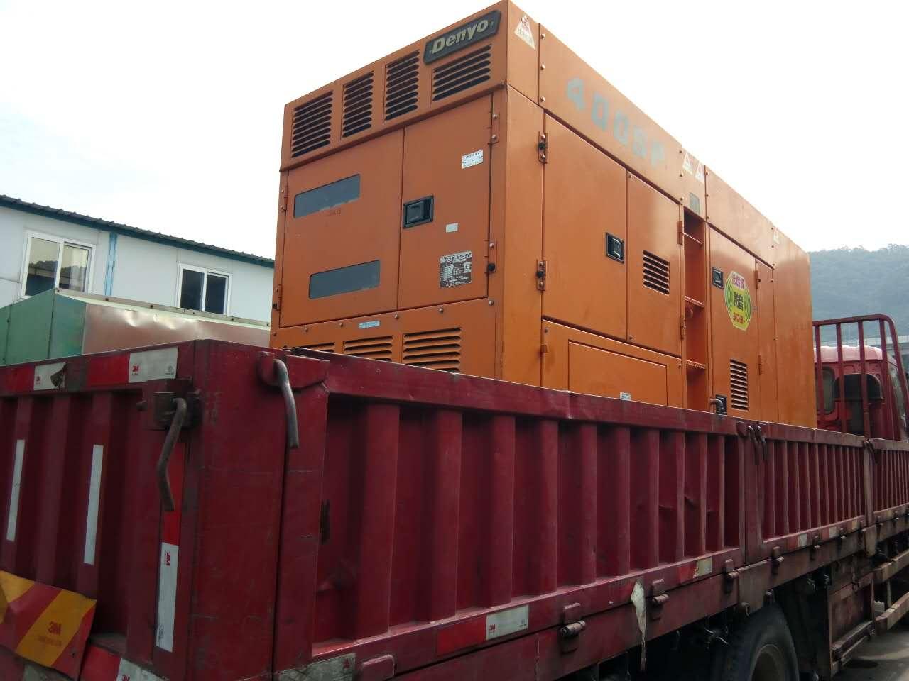 400KW发电机租赁