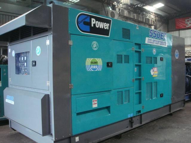 550KW发电机租赁