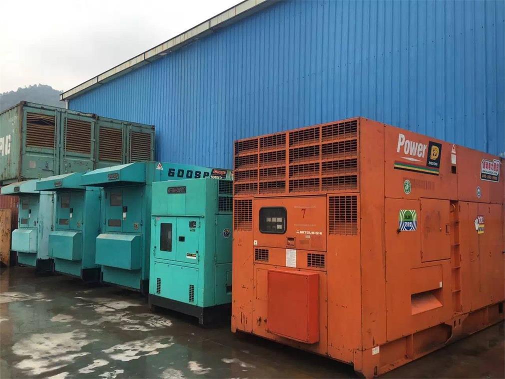 600KW发电机租赁