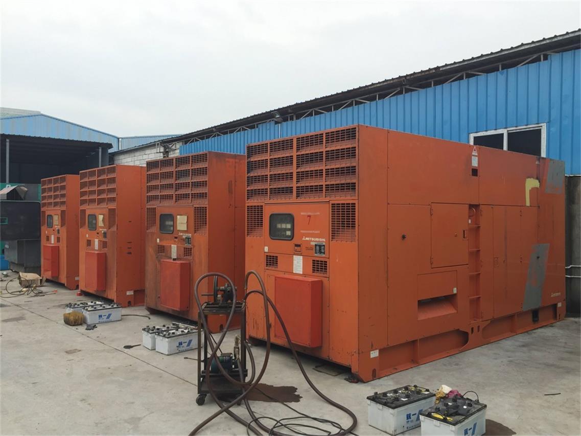 650KW发电机租赁