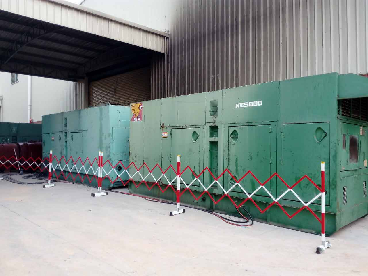 700KW發電機租賃