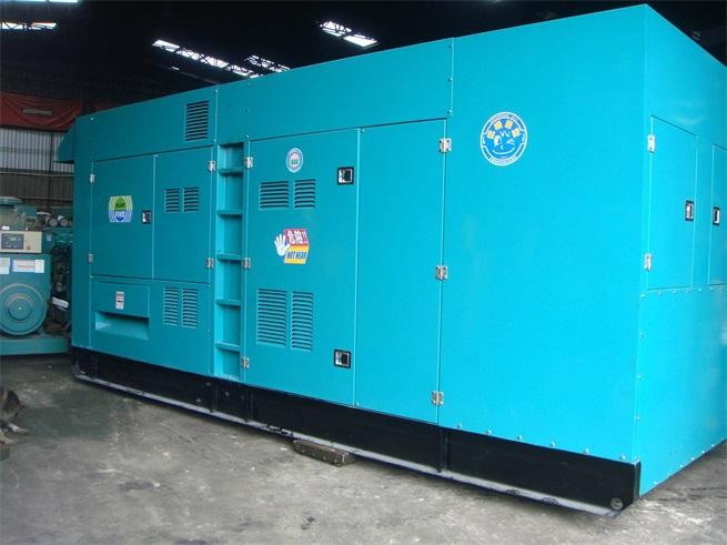 900KW发电机租赁