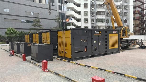 2000KW-10000KW(并机)发电机租赁