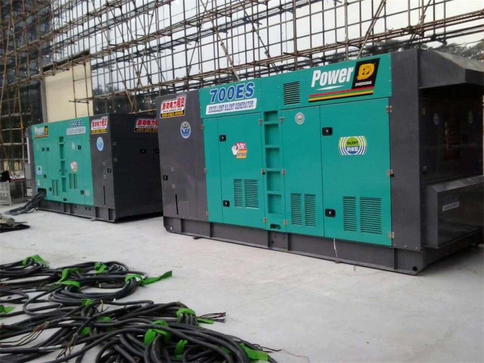 房地产开发发电机租赁