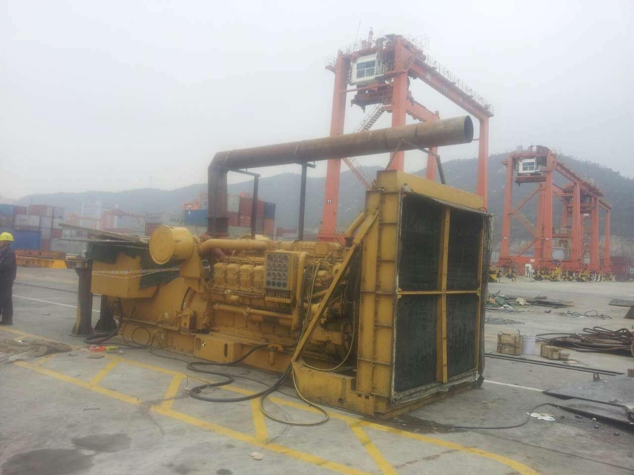 码头建设发电机租赁