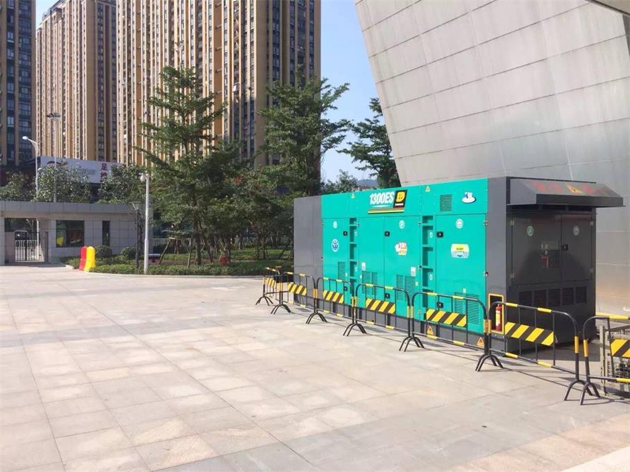 沙井发电机租赁