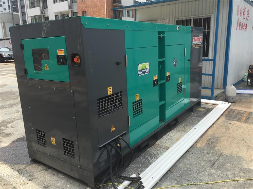 中山发电机租赁