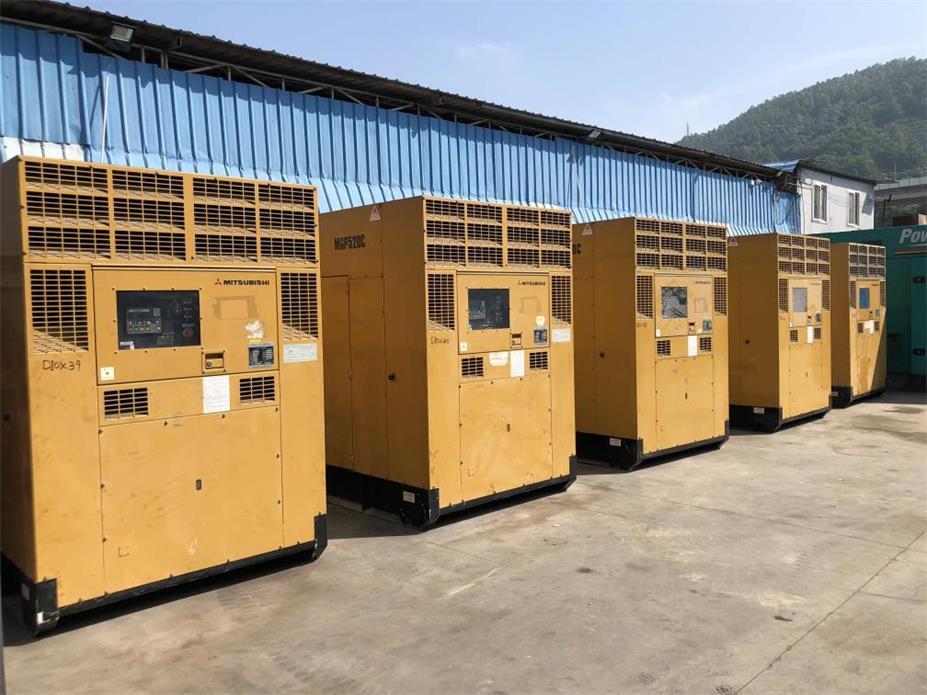 800KW日本三菱发电机租赁