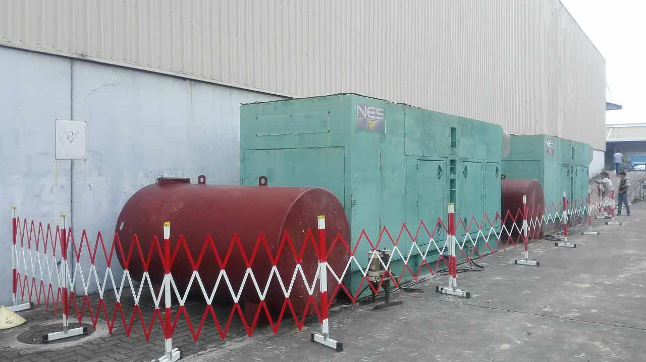 工厂发电机围栏租赁