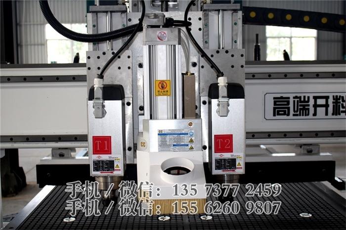 R6-雙主軸排鑽開料機 全包覆機身